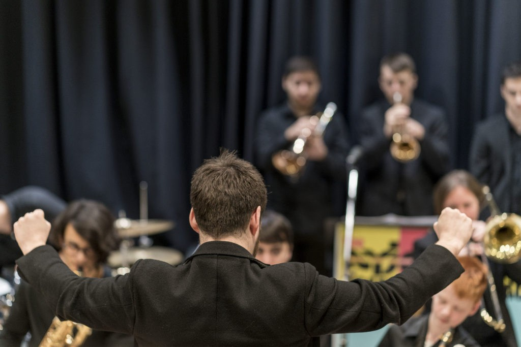 NYJO Academy Big Band end of term concert
