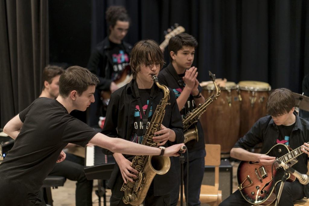 NYJO London Advanced end of term concert