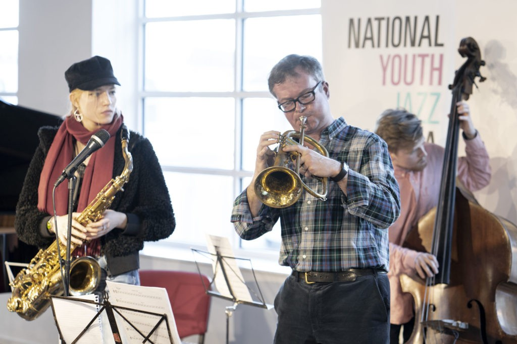 NYJO jazz jam at Foyles