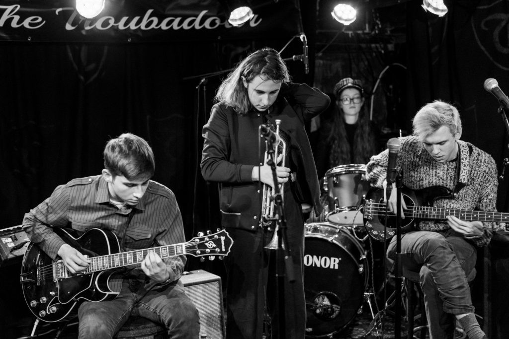 Klara's Band at NYJO London at the Troubadour
